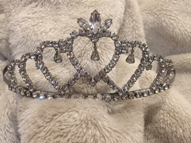 The coveting Homecoming Queen crown. I never wore won, but my friend Heather has two! She's royalty! ;)