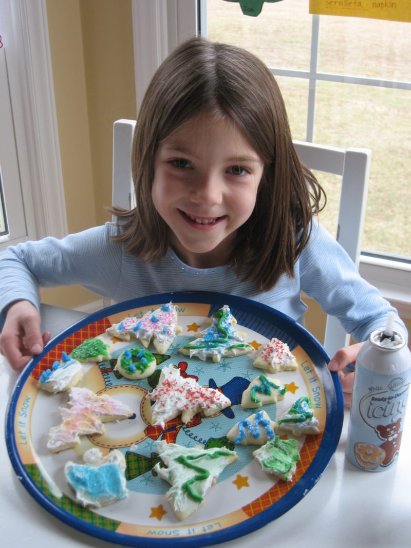 Cookie decorating is an art form.